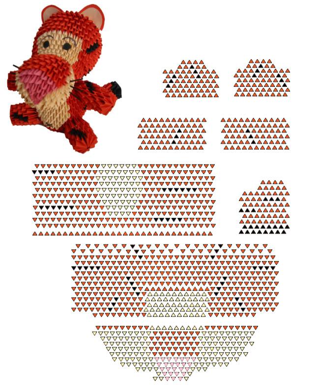 Модульное оригами павлин пошаговая инструкция, жар, птица, подробная схема